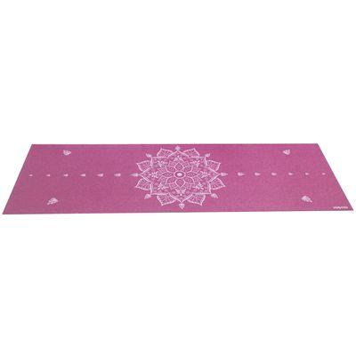 Viavito Asuryama 4mm Yoga Mat - Aubergine - Flat