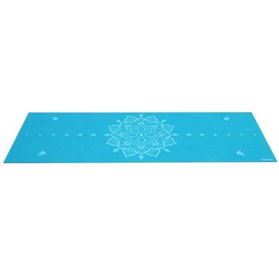 Viavito Asuryama 4mm Yoga Mat - Azure - Flat
