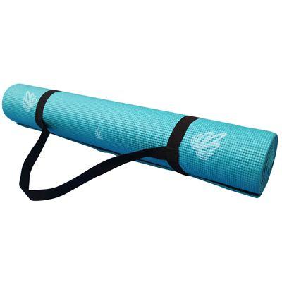 Viavito Asuryama 4mm Yoga Mat - Azure - Holder