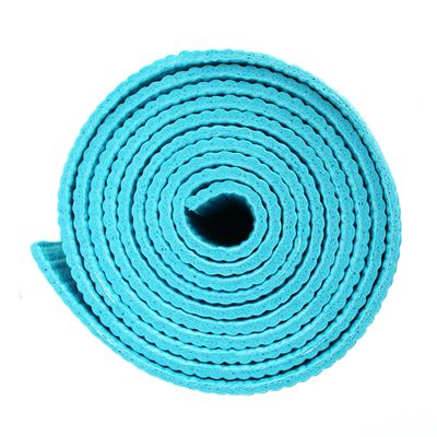 Viavito Asuryama 4mm Yoga Mat - Azure - Side