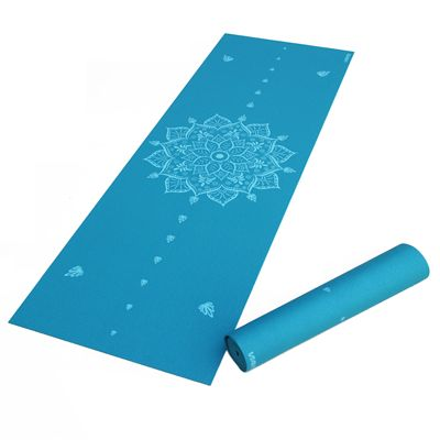 Viavito Asuryama 4mm Yoga Mat - Azure