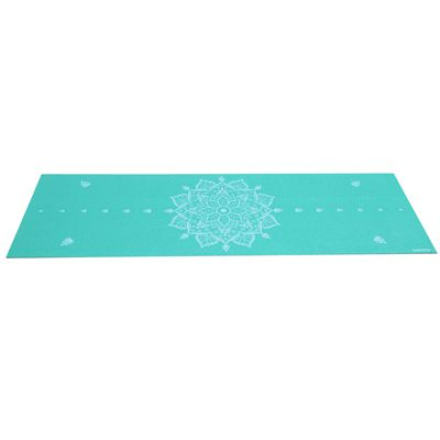 Viavito Asuryama 4mm Yoga Mat - Mint - Flat