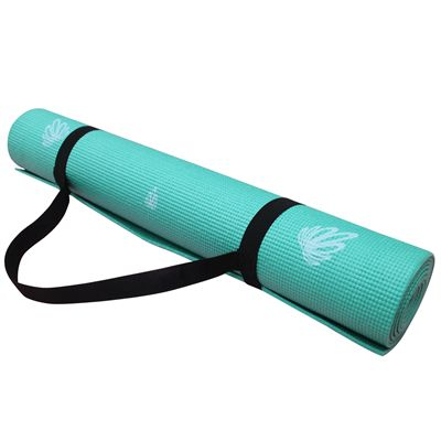 Viavito Asuryama 4mm Yoga Mat - Mint - Holder
