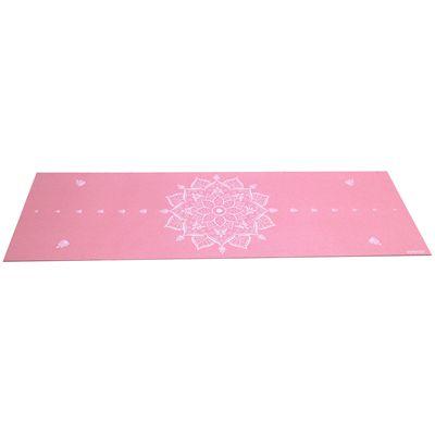 Viavito Asuryama 4mm Yoga Mat - Pink - Flat