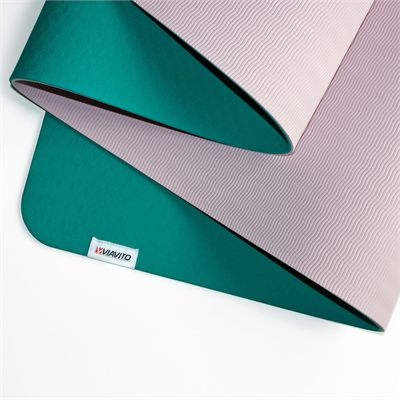 Viavito Ayama 6mm Yoga Mat - Green3