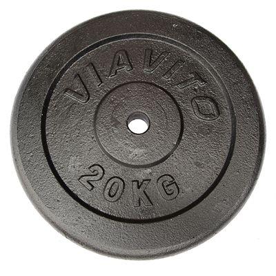 Viavito Cast Iron Standard Weight Plates 20kg