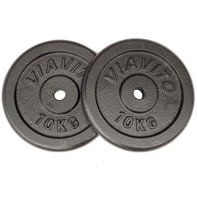 Viavito Cast Iron Standard Weight Plates 2x10