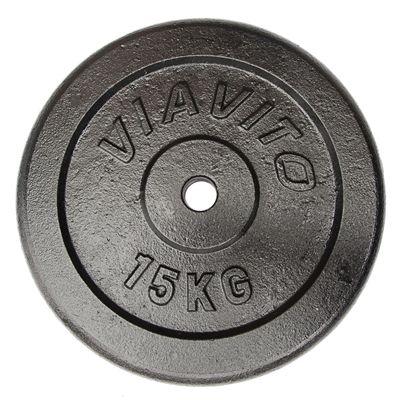 Viavito Cast Iron Standard Weight Plates 10kg