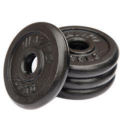 Viavito Cast Iron Standard Weight Plates - 4 x 1.25kg