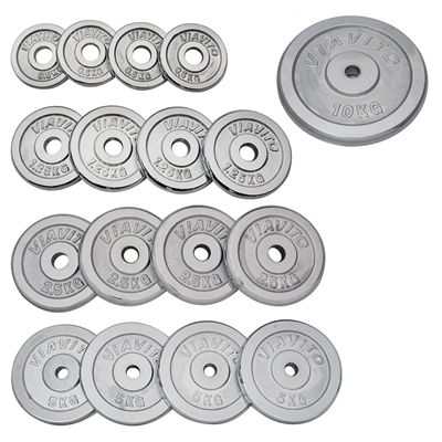 Viavito Chrome Standard Weight Plates