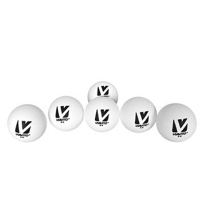 Viavito Club Adept 2 Star Table Tennis Balls - Pack of 6 - New - Balls Vs