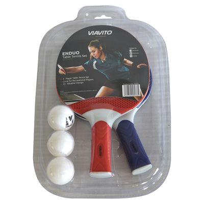 Viavito Enduo 2 Player Table Tennis Set - Box