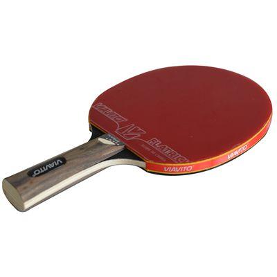 Viavito FlaTrick Table Tennis Bat - Horizontal - Angled2