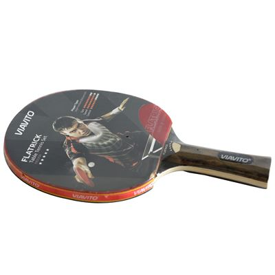 Viavito FlaTrick Table Tennis Bat - Horizontal - Angled