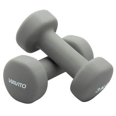 Viavito Neoprene Dumbbells - 3kg