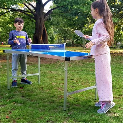 Viavito PlayCase 5ft Outdoor Folding Table Tennis Table - Lifestyle 1