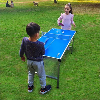 Viavito PlayCase 5ft Outdoor Folding Table Tennis Table - Lifestyle 2
