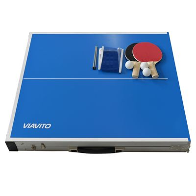 Viavito PlayCase Table Tennis Table - Set - New
