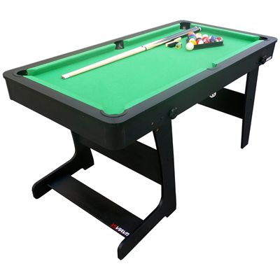 Viavito PT100X 5ft Folding Pool Table - Corner View