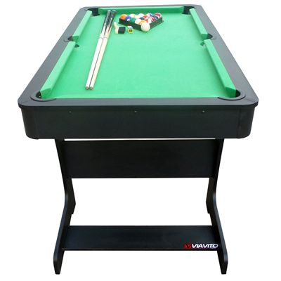 Viavito PT100X 5ft Folding Pool Table - Front View