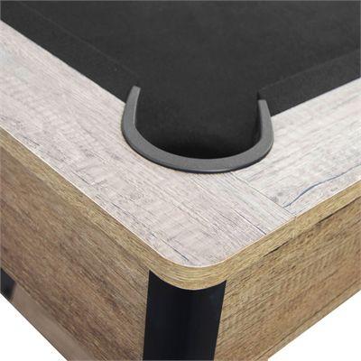Viavito PT500 7ft Pool Table - Black - Hole