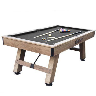 Viavito PT500 7ft Pool Table - Black