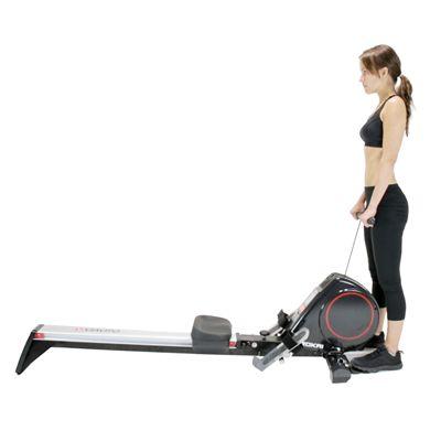 Viavito Rokai Folding Rowing Machine - In use 1