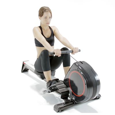 Viavito Rokai Folding Rowing Machine - In use
