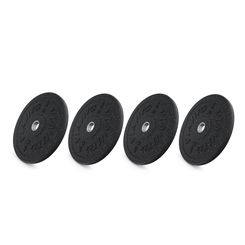 Viavito Rubber Crumb Bumper Olympic Weight Plates - 4 x 5kg