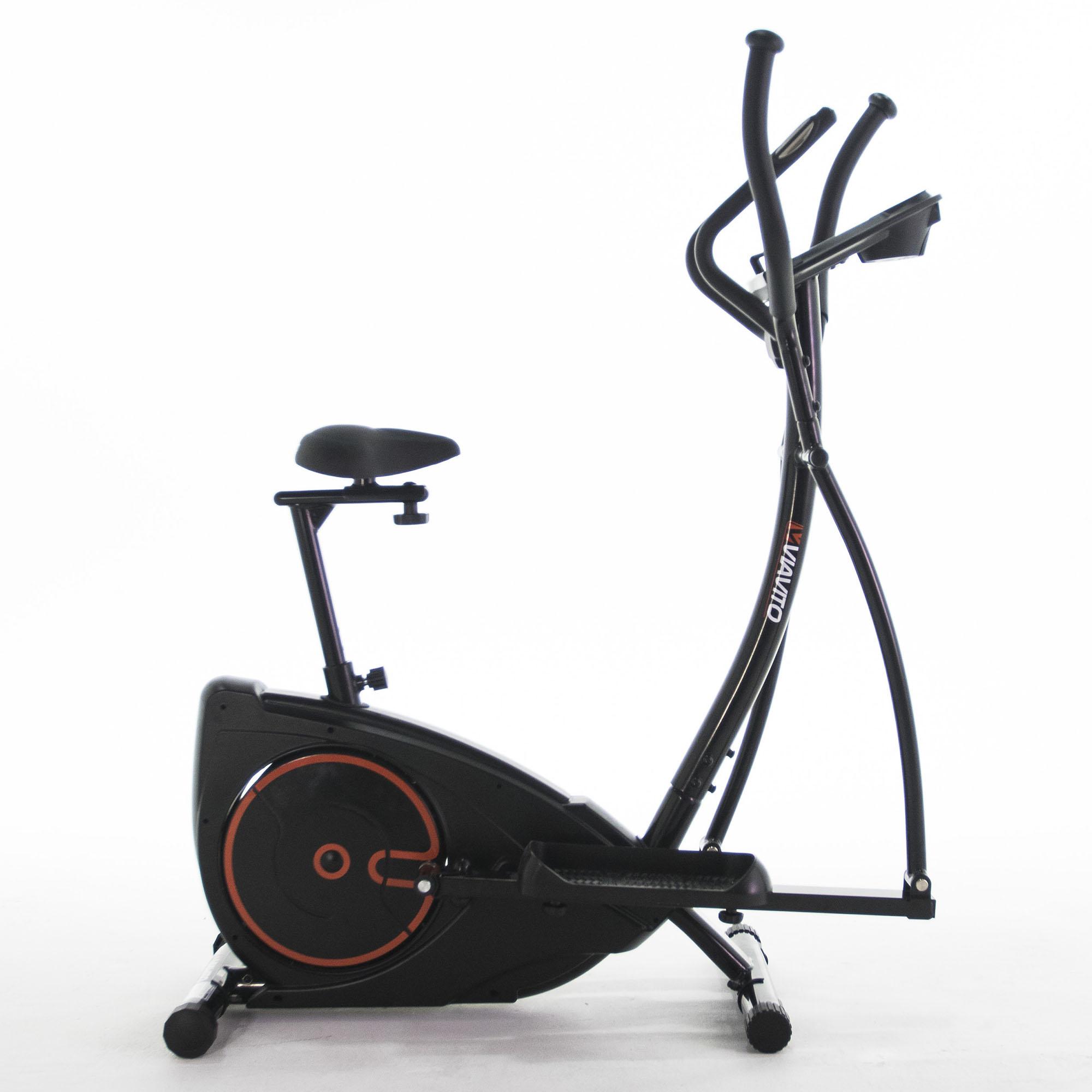 Lifemax Elliptical Bike: V-Fit MCCT1 Magnetic 2 In 1 Cycle Elliptical Trainer