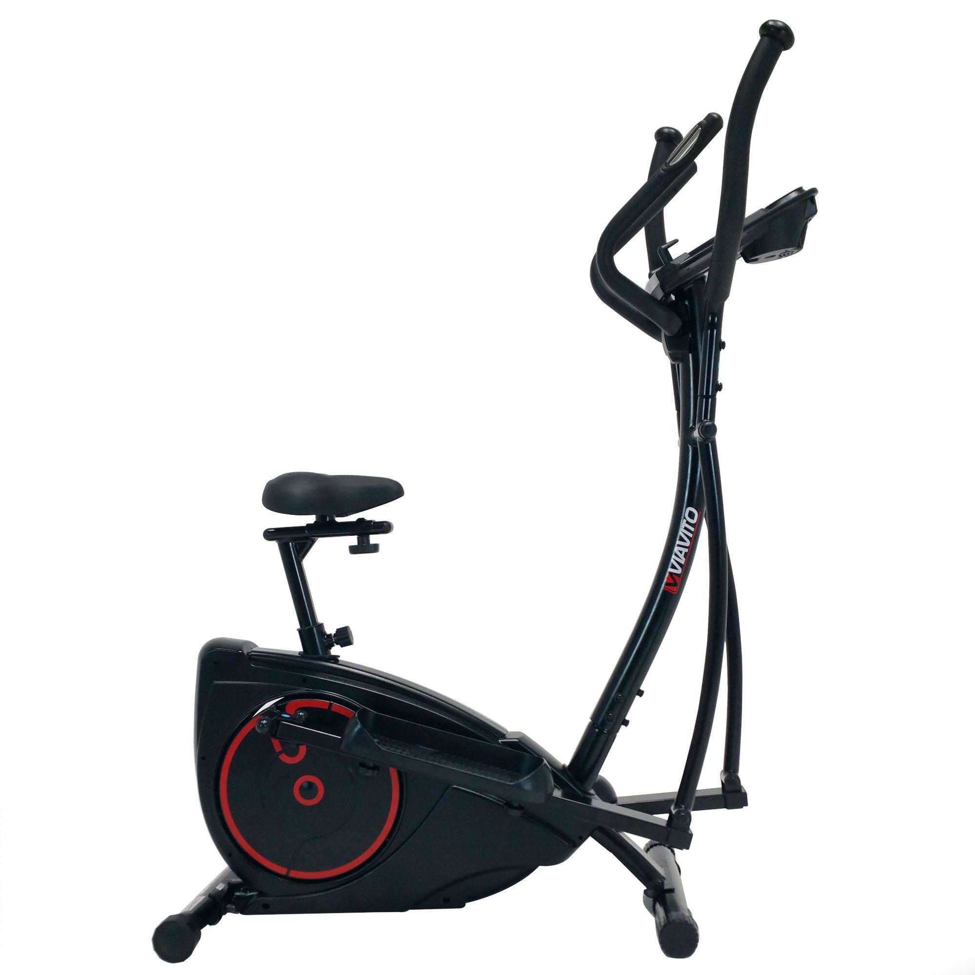 Elliptical Bike Pictures: Viavito Setry 2 In 1 Elliptical Trainer & Exercise Bike