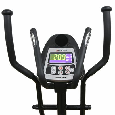 Viavito Setry 2 in 1 Elliptical Trainer And Exercise Bike - Console