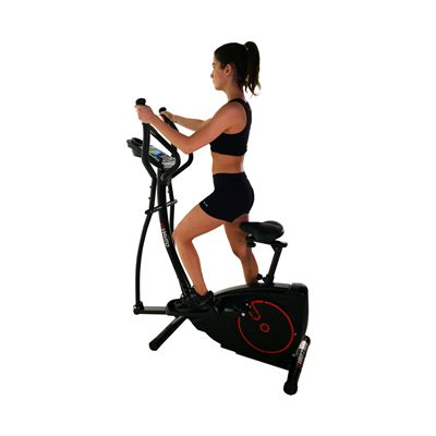 Viavito Setry 2 in 1 Elliptical Trainer & Exercise Bike - In Use - 1