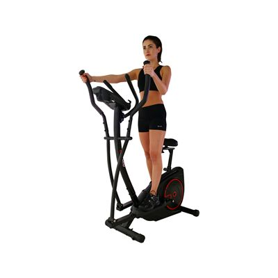 Viavito Setry 2 in 1 Elliptical Trainer & Exercise Bike - In Use - 2