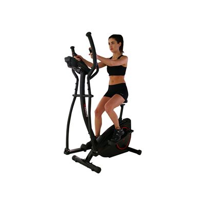 Viavito Setry 2 in 1 Elliptical Trainer & Exercise Bike - In Use - 3