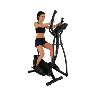 Viavito Setry 2 in 1 Elliptical Trainer & Exercise Bike - In Use - 4