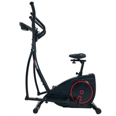 Viavito Setry 2 in 1 Elliptical Trainer  Exercise Bike - Left Side