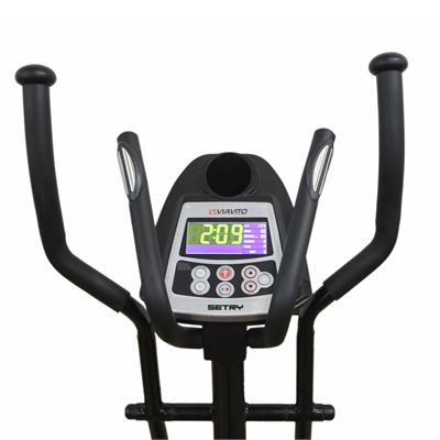 Viavito Setry 2 in 1 Elliptical Trainer & Exercise Bike - Main - Console