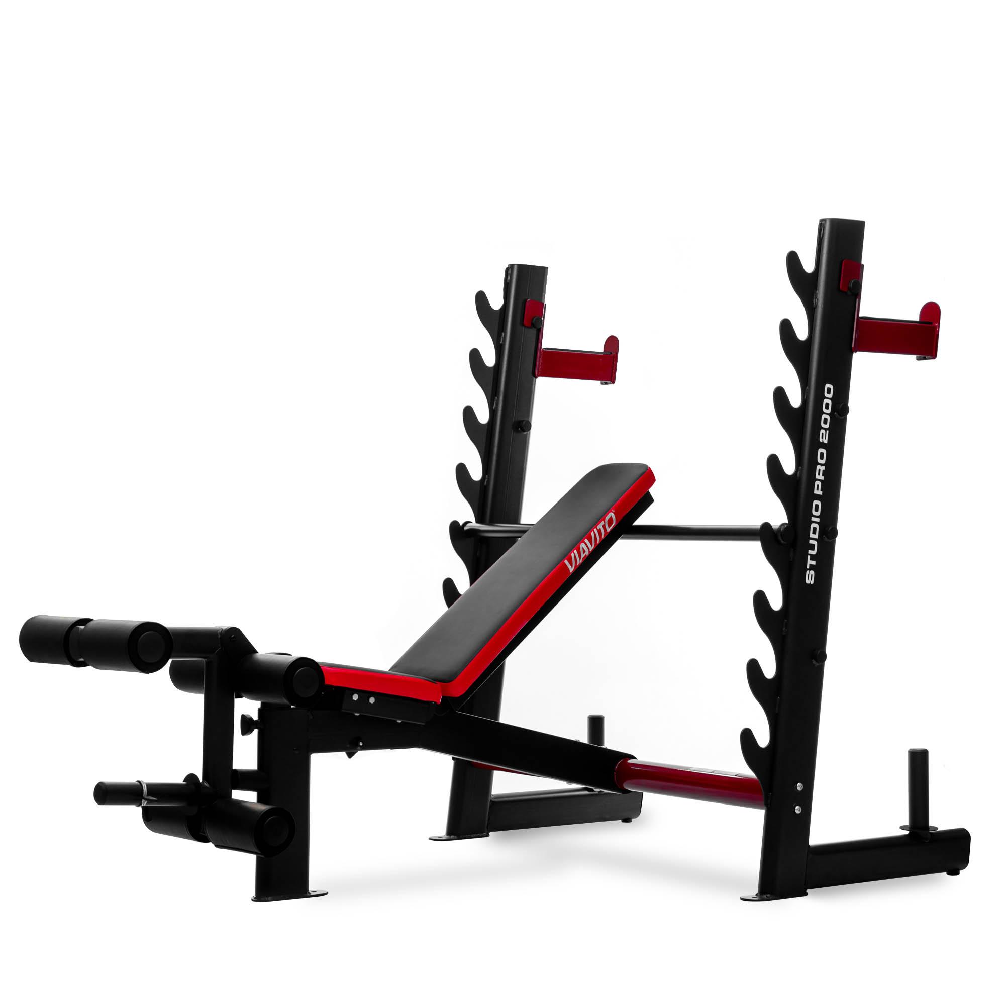 Viavito Studio Pro 2000 Olympic Barbell Weight Bench