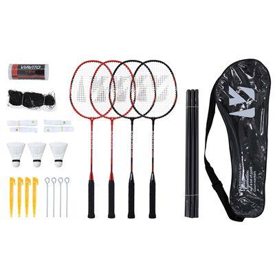 Viavito Super Strike 4 Player Badminton Set