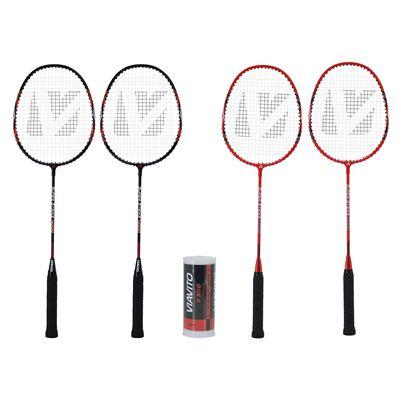 Viavito Super Strike 4 Player Badminton Set Package Rackets