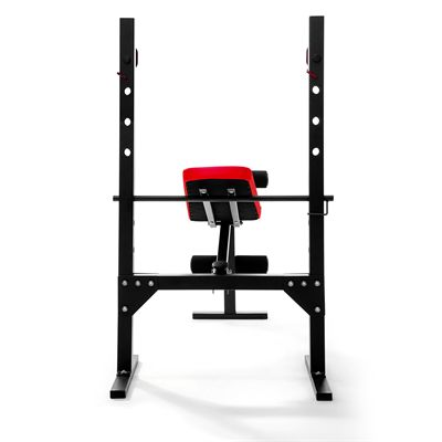 Viavito SX200 Folding Barbell Weight Bench - Back