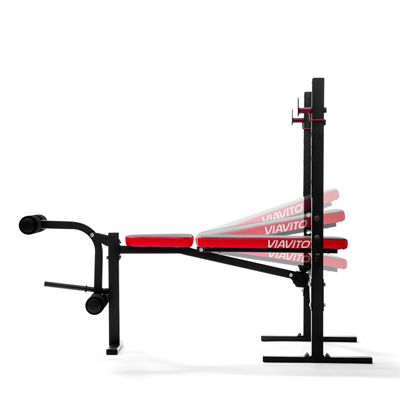 Viavito SX200 Folding Barbell Weight Bench - Levels