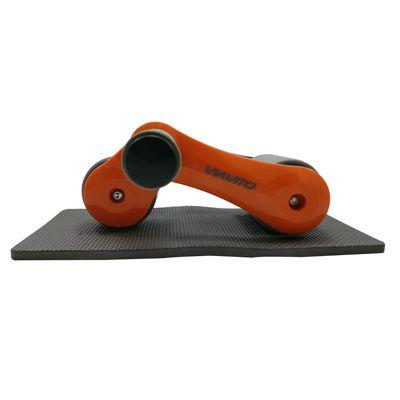 Viavito Tuyami Folding Ab Wheel - Orange - Side