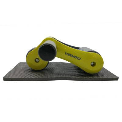 Viavito Tuyami Folding Ab Wheel - Yellow - Side
