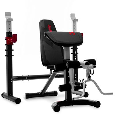 Viavito TX1000 GT 2 Piece Olympic Barbell Weight Bench