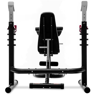Viavito TX1000 GT 2 Piece Olympic Barbell Weight Bench - Back Wide