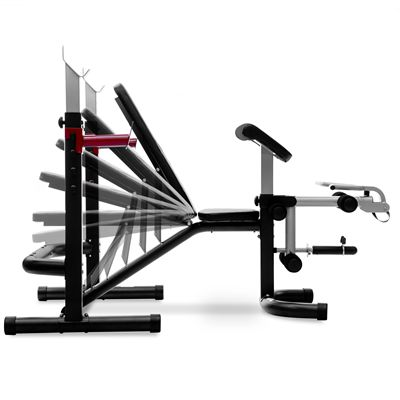 Viavito TX1000 GT 2 Piece Olympic Barbell Weight Bench - Levels