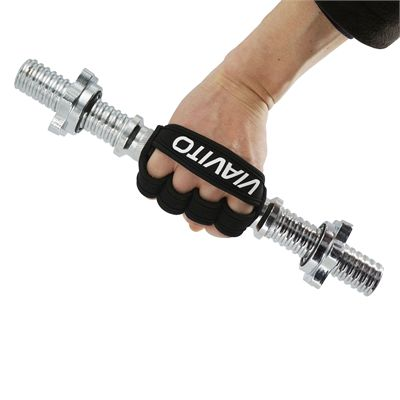 Viavito Weight Lifting Grip Pad - In Use