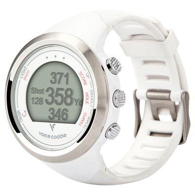 Voice Caddie T1 GPS Golf Watch - White - Main Image